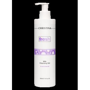 Молочный очищающий гель для сухой и нормальной кожи Fresh Milk Cleansing Gel for dry and normal skin Christina (Кристина), 300 мл