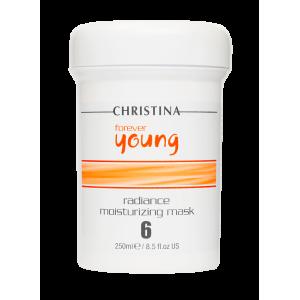 Увлажняющая Маска «Сияние» (шаг 6а) Forever Young Radiance Moisturizing Mask Christina (Кристина), 250 мл