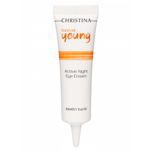 Активный ночной крем для кожи вокруг глаз Forever Young Active Eye Night Cream Christina (Кристина), 30 мл