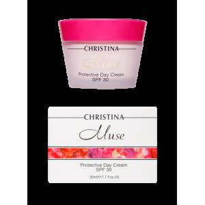 Дневной защитный крем SPF 30 Muse Protective Day Cream SPF 30 Christina (Кристина), 50 мл
