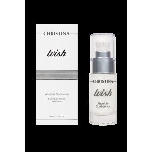 Сыворотка для сокращения морщин «Абсолютная уверенность» Wish Absolute Confidence Expression Wrinkle Reduction Christina (Кристина), 30 мл