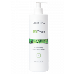 Успокаивающий массажный крем (шаг 5) Bio Phyto Comforting Massage Cream Christina (Кристина), 500 мл