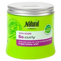 Питательная маска для вьющихся и волнистых волос Careline Natural Formula (Натуральная формула) 400 мл