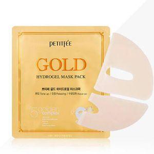 Гидрогелевая маска для лица с золотом Petitfee (Петитфи) 32 г