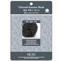 Тканевая маска для лица с древесным углем Mijin care (Миджин) 23 г