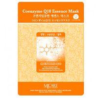 Тканевая маска для лица с коэнзимом Q10 Mijin care (Миджин) 23 г