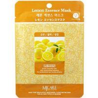 Тканевая маска для лица с экстрактом лимона Mijin care (Миджин) 23 г