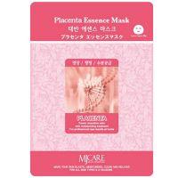 Тканевая маска для лица с плацентой Mijin care (Миджин) 23 г
