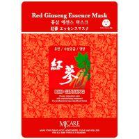Регенерирующая маска для лица с женьшенем (тканевая) Mijin care (Миджин) 25 г