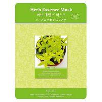 Тканевая маска для лица с лечебными травами Mijin care (Миджин) 23 г
