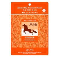 Питательная маска для лица с конским жиром (тканевая) Mijin care (Миджин) 22 г