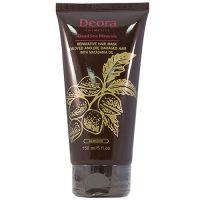 Маска восстанавливающая и питательная для окрашенных и поврежденных волос с маслом макадамии, кератинами и д-пантенолом - Deora, 150мл