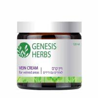 Крем, тонизирующий вены, для компрессионного массажа Vein Cream Genesis Herbs by Sea of Spa 120 мл