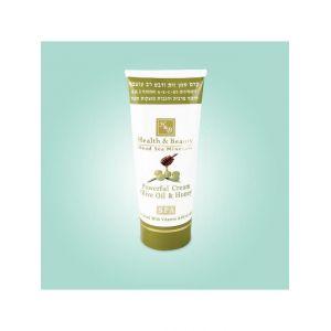 Крем для тела интенсивный Health & Beauty, на основе оливкового масла и меда 100 мл