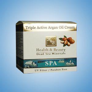 Крем для лица активный с Аргановым маслом Health & Beauty 50 мл