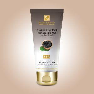 Маска для волос и кожи головы с минералами (грязью) Мертвого моря Health & Beauty 200 мл