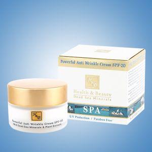 Крем для лица Health & Beauty, от морщин интенсивный SPF-20 50 мл