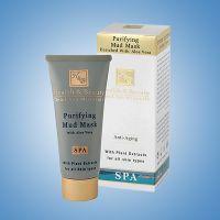 Маска для лица грязевая очищающая Health & Beauty, с экстрактом Алоэ Вера 100 мл