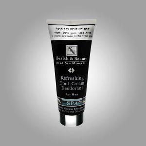 Крем-дезодорант для ног мужской Health & Beauty, охлаждающий 200 мл