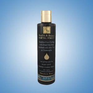 Скраб жидкий для лица Health & Beauty, с грязью Мёртвого моря с Алоэ Вера и Ромашкой 250 мл