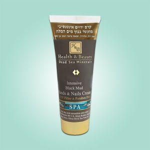 Крем для рук интенсивный Health & Beauty, на основе грязи Мертвого моря 200 мл