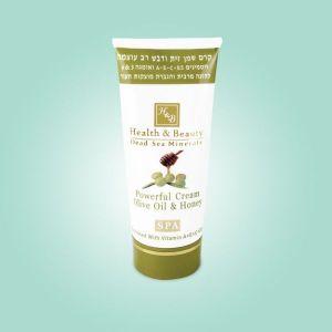 Крем для тела интенсивный Health & Beauty, на основе оливкового масла и меда 180 мл