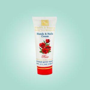 Крем для рук и ногтей Health & Beauty, мультивитаминный - Роза 100 мл