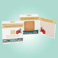 Мыло натуральное Health & Beauty, с облепихой 125 г