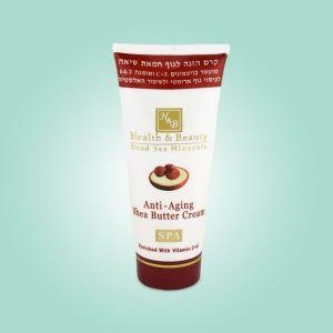 Крем для тела Health & Beauty, с маслом Ши против старения 180 мл