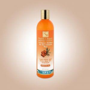 Шампунь для сухих окрашенных волос Health & Beauty, с маслом облепихи 400 мл