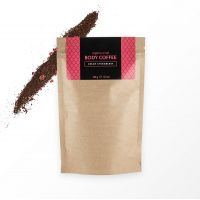 Аргановый скраб кофейный Huilargan® клубника со сливками, 150 г