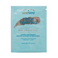 Детокс-маска с грязью мертвого моря для лица SeeSee 6 мл