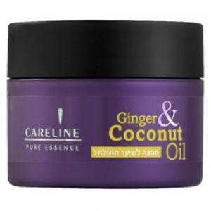 Маска для кудрявых волос с имбирем и маслом кокоса Careline 300 мл