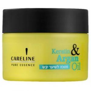 Маска для сухих волос Кератин и Аргановое масло Careline 300 мл