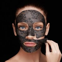Гидрогелевая маска для упругости и эластичности кожи (кружево) Careline 20 г