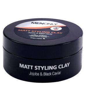 Моделирующая глина с матирующим эффектом для волос, усов и бороды для мужчин Mon Platin Professional 85 мл