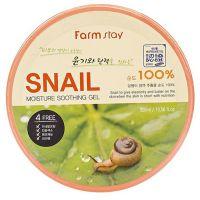 Универсальный увлажняющий гель с экстрактом слизи улитки FarmStay Moisture Soothing Gel Snail 300 мл