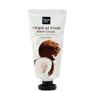 """Крем для рук """"тропические фрукты"""" FarmStay Tropical Fruit Hand Cream 50мл"""