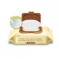 Очищающие пилинг-салфетки с экстрактом яблока, пропитаны АНА кислотами Calmia Premium Apple Peeling Cleansing Tissue 80 шт