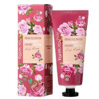Крем для рук с экстрактом розы FarmStay Pink Flower Blooming Hand Cream Pink Rose 100 мл
