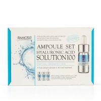 Сыворотка-концентрат гиалуроновой кислоты Ramosu Hyaluronic Acid Solution 100 3 шт по 10 мл