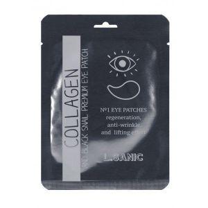 Патчи для глаз с коллагеном и муцином черной улитки L SANIC Eye Patch 2 шт