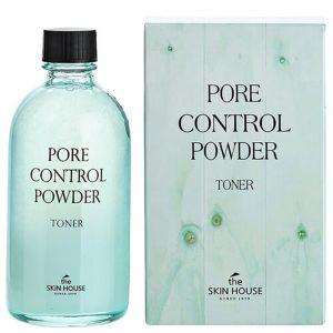 Тоник для сужения пор и матовой кожи The Skin House Pore control powder toner 130 мл