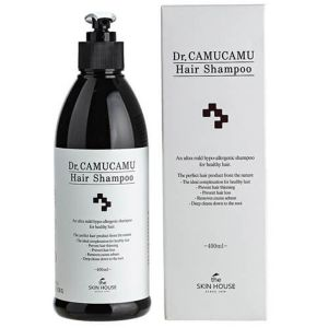Шампунь против выпадения и способствующий росту волос The Skin House Dr. Camucamu Hair Shampoo 400 мл