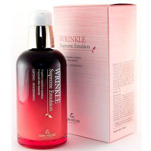 Эмульсия для лица разглаживающая морщины The Skin House Wrinkle Supreme Emulsion 130 мл
