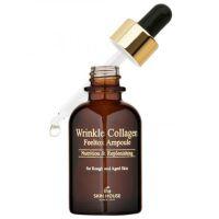 Ампульная сыворотка для лица с коллагеном. The Skin House Wrinkle Collagen Feeltox Ampoule 30 мл