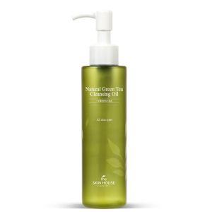 Гидрофильное масло с экстрактом зелёного чая The Skin House Natural Green Tea Cleansing Oil 150 мл