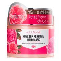 Маска для поврежденных волос с маслом шиповника Welcos Around me Rose Hip Perfume Hair Mask 300 г