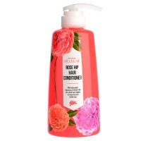 Кондиционер для волос с маслом шиповника Welcos Around me Rose Hip Hair Conditioner 500 мл