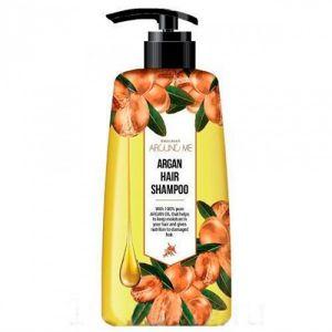 Шампунь для волос c маслом арганы для поврежденных волос Welcos Around me Argan Hair Shampoo 500 мл